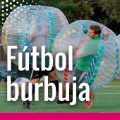 Fútbol burbuja en Pamplona