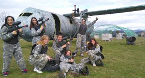 Paintball adolescente