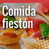 Comida fiestón en Pamplona