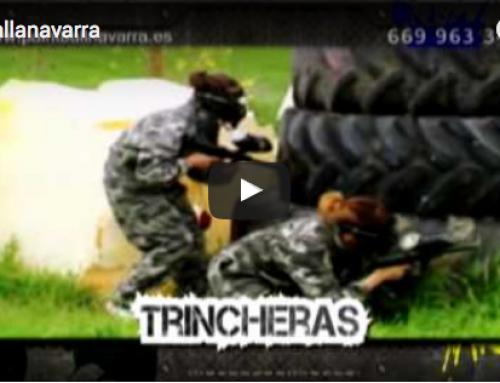 Spot de televisión de Paintball Navarra